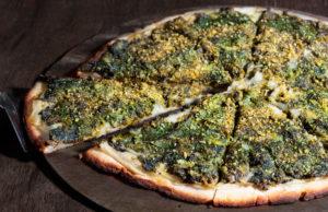 Queso Paparella Acelga al Vapor Crema Vegana de Girasol Parmesano Vegano Alioli de Albahaca